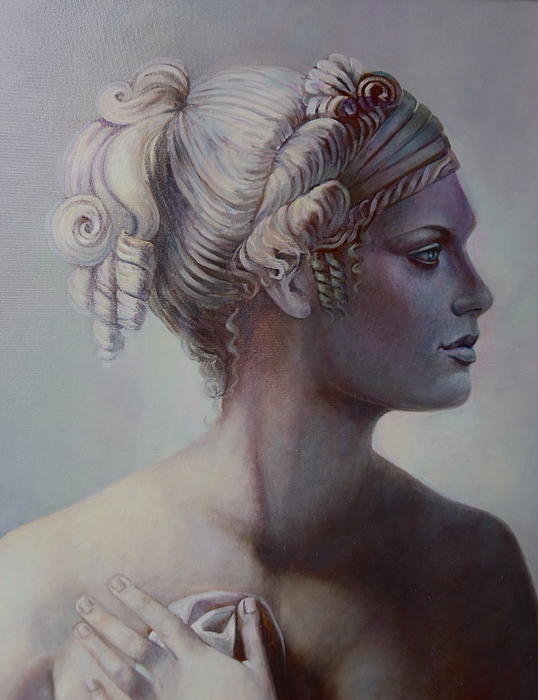Goddess Detail Print by Geraldine Arata