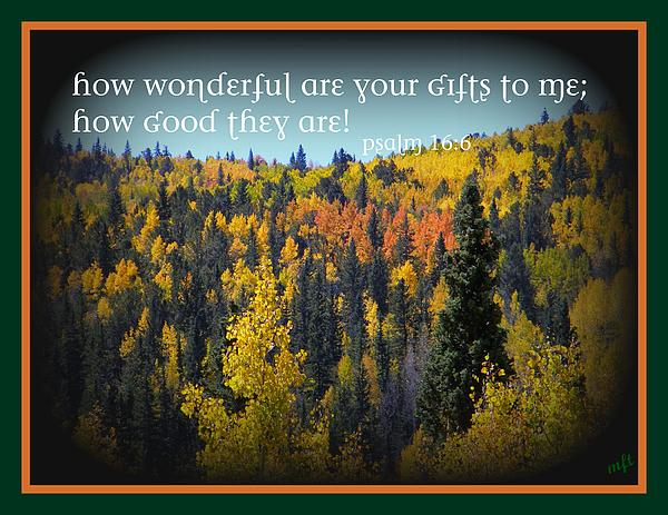 God's Gifts Print by Michelle Frizzell-Thompson