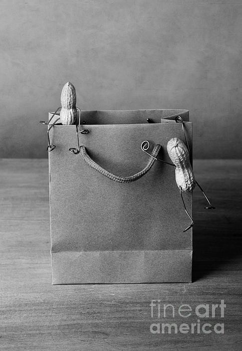 Going Shopping 01 Print by Nailia Schwarz