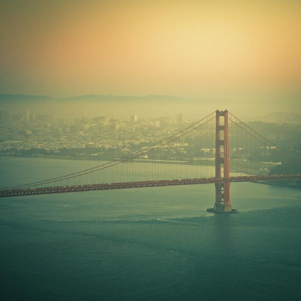 Golden Gate Bridge Print by © Reny Preussker