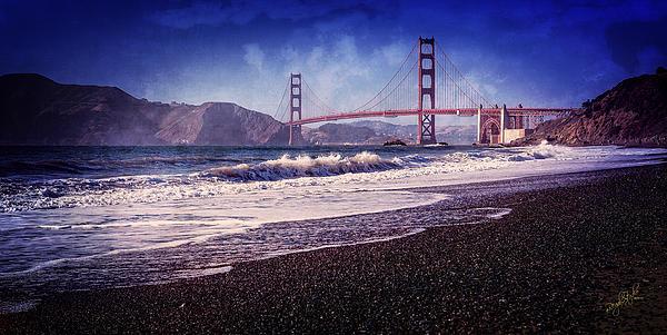 Golden Gate Print by Everet Regal