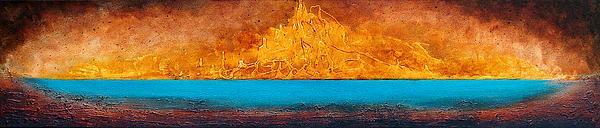 Golden Island  Print by Mauro Celotti