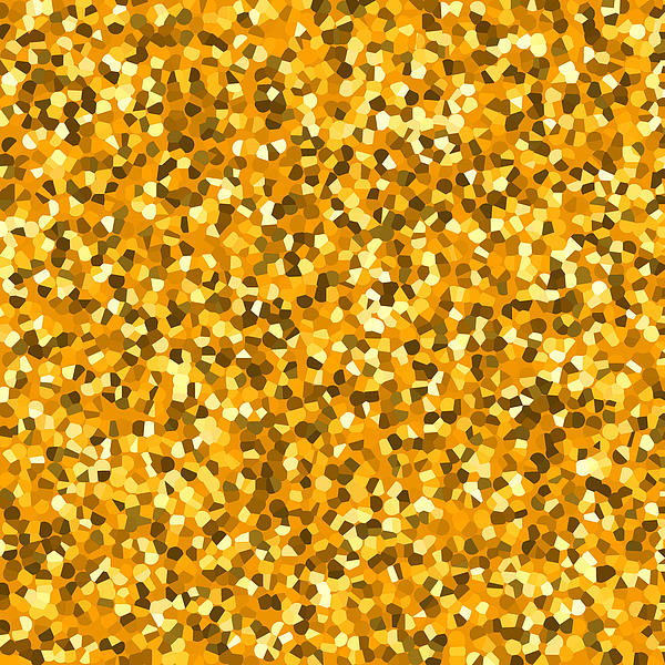 Golden Sprinkle Print by Sumit Mehndiratta