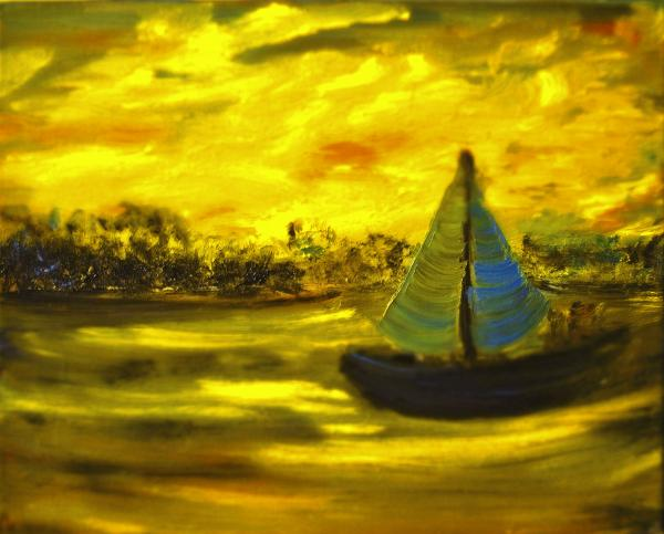 Evelina Popilian - Golden Sunset