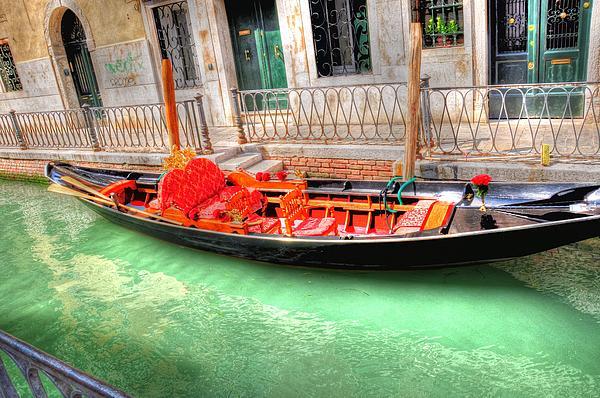 Gondola No Koibito Tachi Print by Barry R Jones Jr