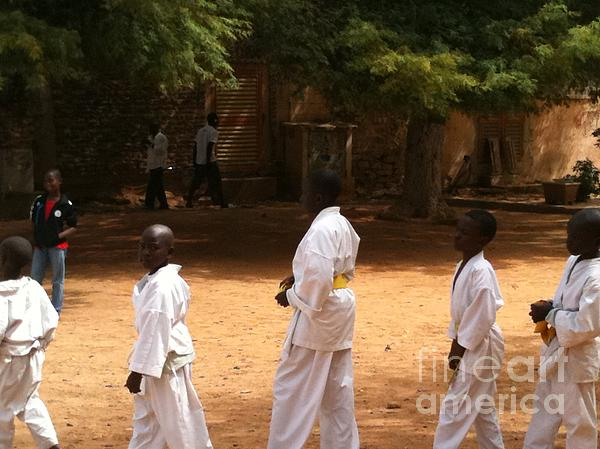 Goree Karate  Print by Fania Simon