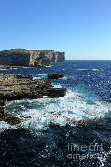 Gozo Coast Photograph  - Gozo Coast Fine Art Print