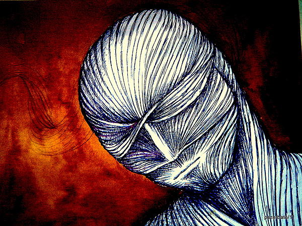 Gradually Falling Asleep In Apathy Of Unconsciousness Print by Paulo Zerbato