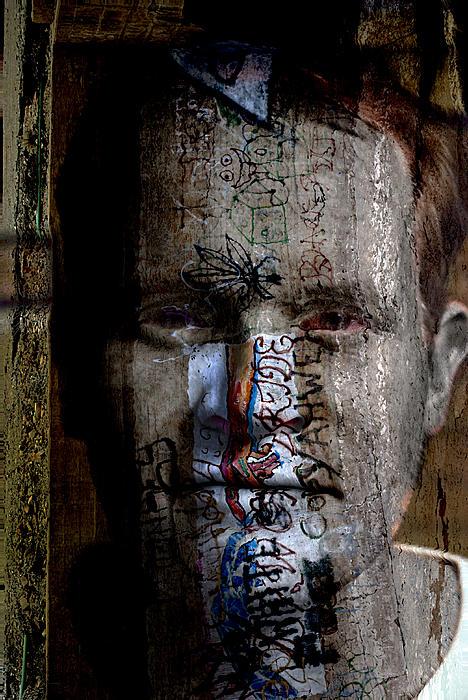 Graffiti Print by Christopher Gaston