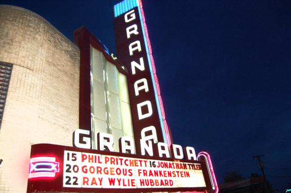Granada Theater Print by Debbi Granruth