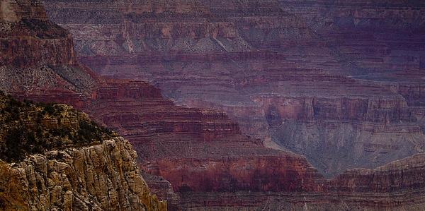 Grand Canyon Ridges Print by Andrew Soundarajan