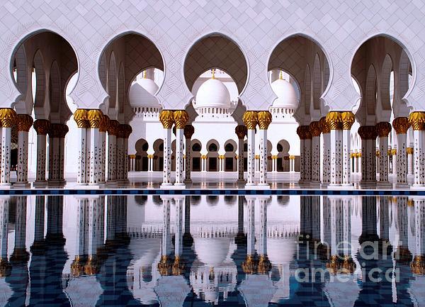 Grand Mosque Print by Karen Kean