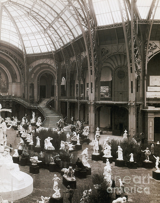 Grand palais paris expo 1900 by science source - Exposition paris grand palais ...