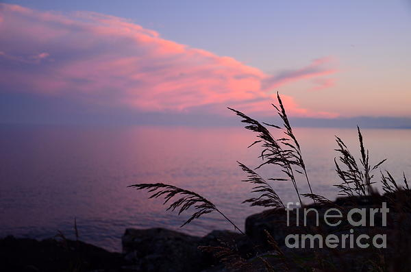 Grand Sunset Print by Whispering Feather Gallery