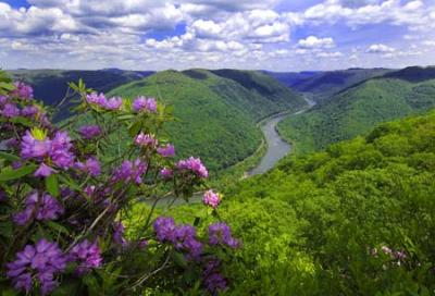 spring in west virginia
