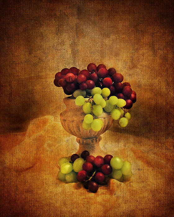 Grapes Print by Jai Johnson