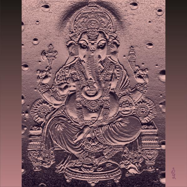 Graphic 10 Ganesha Digital Art 