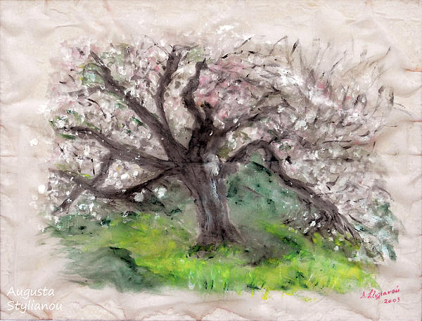 Gravity of the Almond Tree Painting
