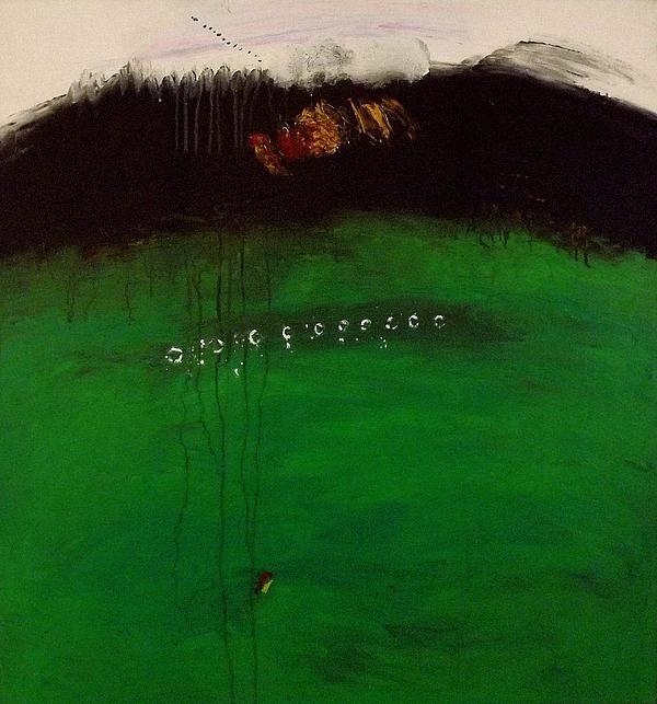 Great Green Print by Jorgen Rosengaard