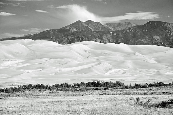 Gene Sherrill - Great Sand Dunes BW