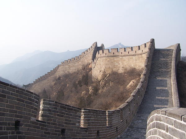 Great Wall Of China Print by Steve Huang
