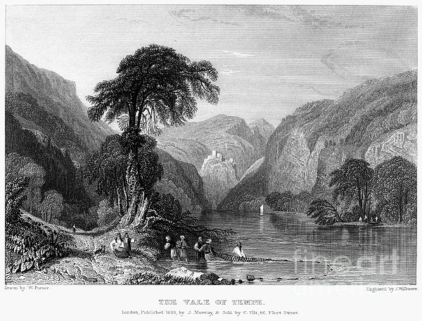 Greece: Vale Of Tempe Print by Granger