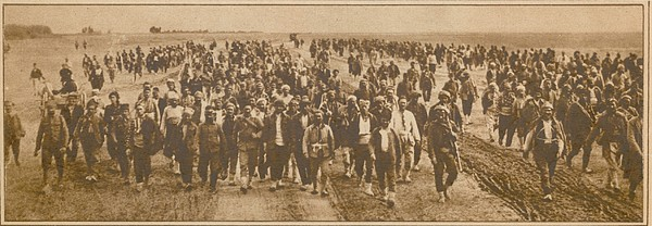 Greek Refugees Were Forced Print by Everett