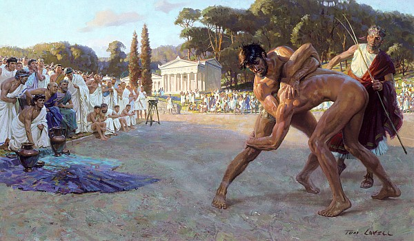 Ancient Olympic Games | THE HISTORY OF OLYMPIC GAMES