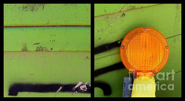 Green Bein' Print by Marlene Burns