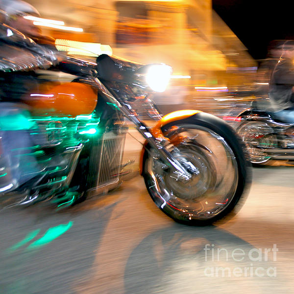 Green Machine Print by Glennis Siverson