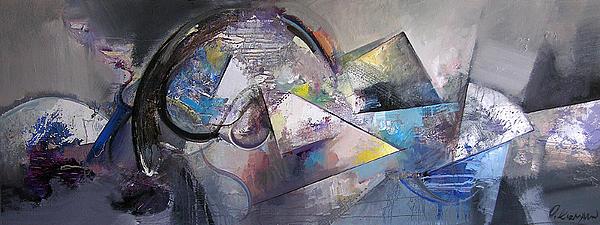 Grey Print by Ognian Kouzmanov