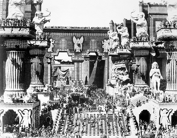 Griffith: Intolerance 1916 Print by Granger