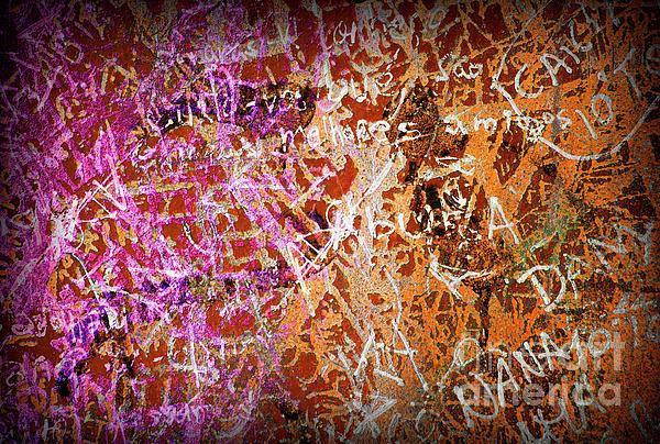 Grunge Background 3 Print by Carlos Caetano