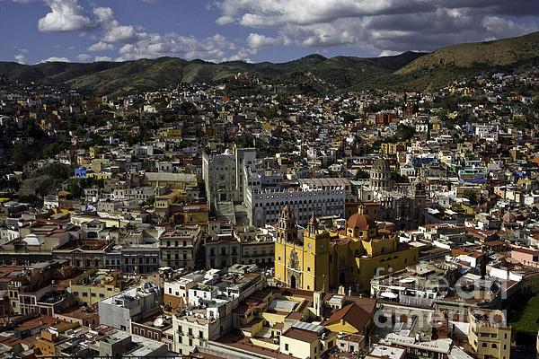 Guanajuato Vista Print by Lynn Palmer