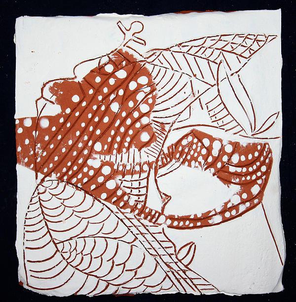 Guardian Angel - Tile Print by Gloria Ssali