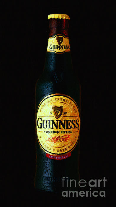 Guinness Print by Wingsdomain Art and Photography