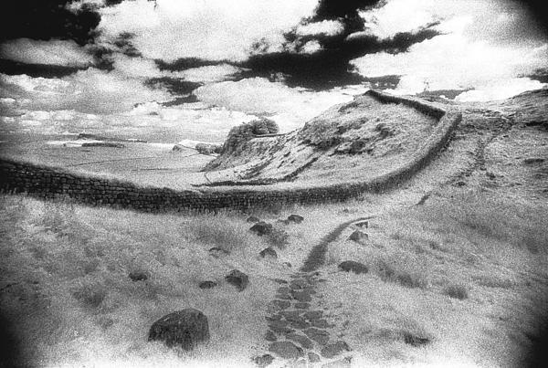 Hadrians Wall Print by Simon Marsden