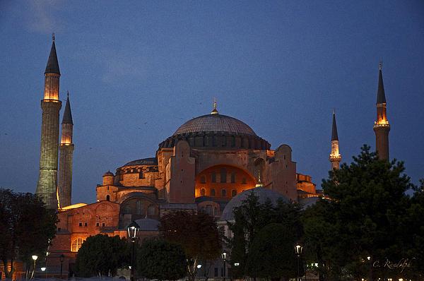 Hagia Sophia Print by Cheri Randolph