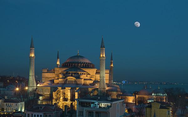 Hagia Sophia Museum Print by Ayhan Altun