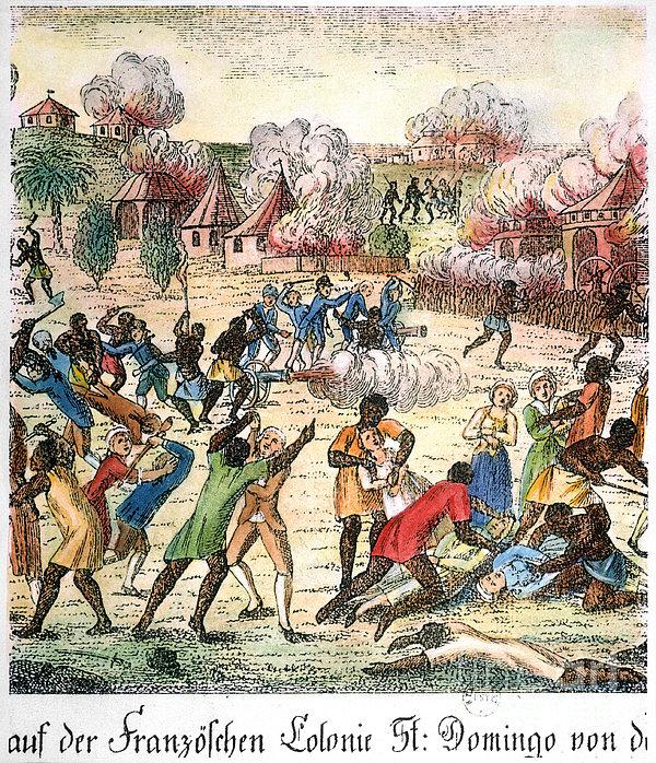 Haiti: Slave Revolt, 1791 Print by Granger
