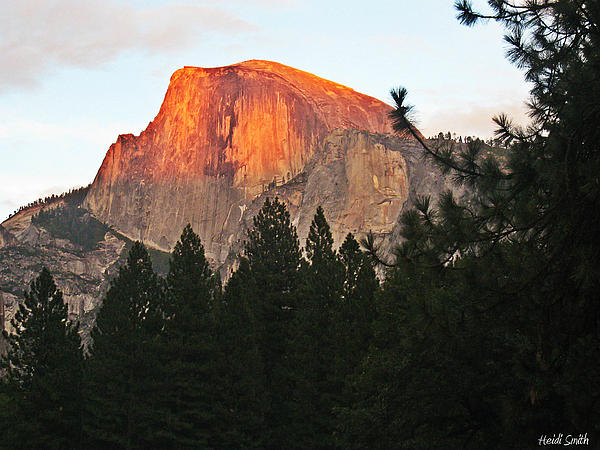 Heidi Smith - Half Dome Alpenglow