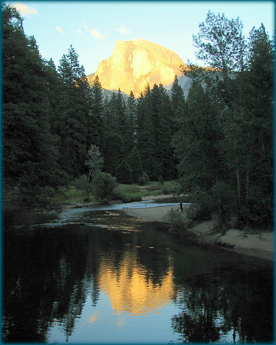 Carla Parris - Half Dome Reflection