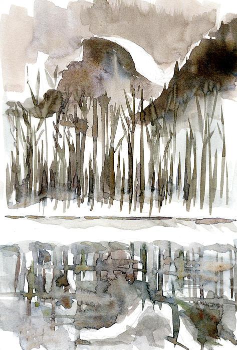 Half Dome Winter Print by Carol A Marcus