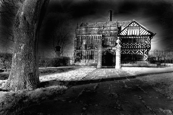 Hall 'ith Wood Manor  Print by Matt Nuttall