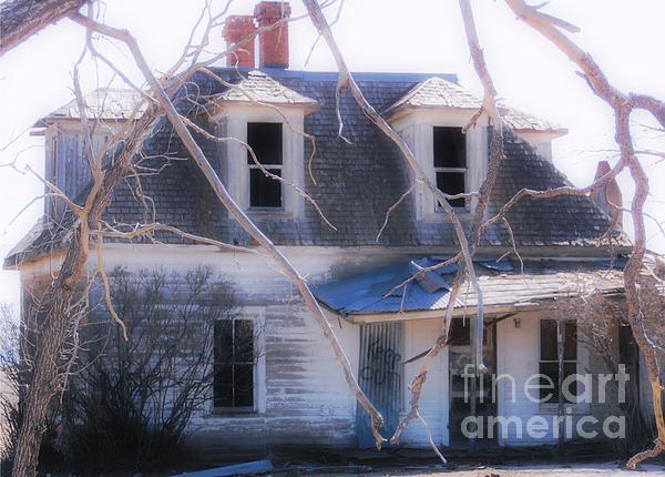 Halloween House Print by Jerilyn Davis