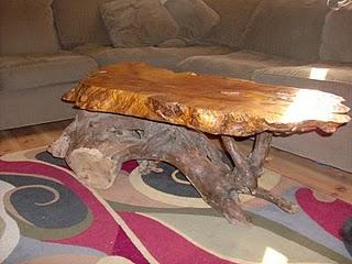 Handmade driftwood table by bob smith for Driftwood tables handmade