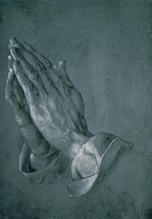 Hands Of An Apostle Print by Albrecht Durer