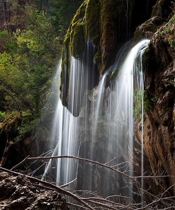 John Rodriguez - Hanging Lakes Waterfall