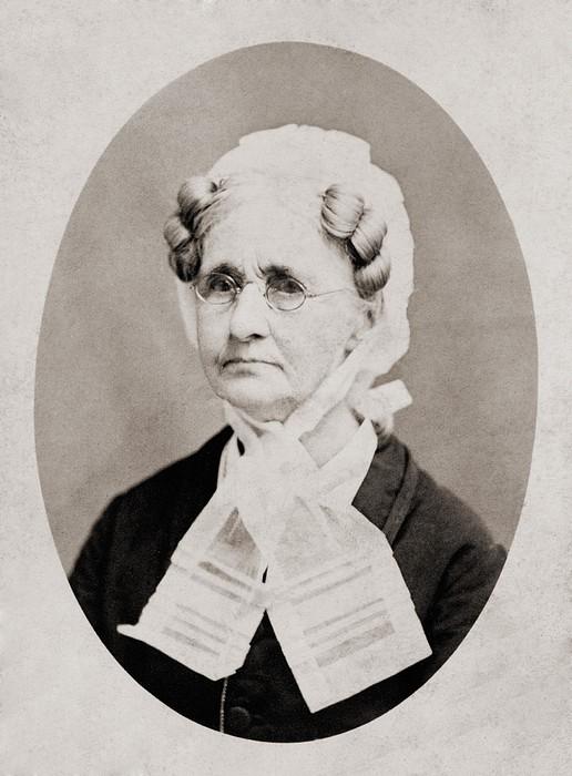 Hannah Simpson Grant 1798-1883, Mother Print by Everett