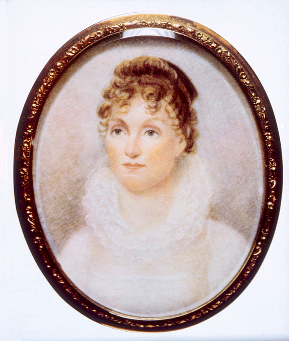Hannah Van Buren 1783-1819, Wife Print by Everett